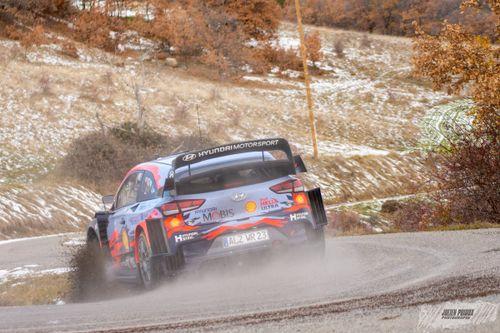 WRC December tests