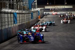 Robin Frijns, Envision Virgin Racing, Audi e-tron FE07 Sam Bird, Jaguar Racing, Jaguar I-Type 5