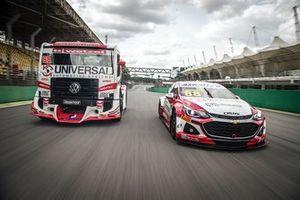 Truck e carro de Beto Monteiro