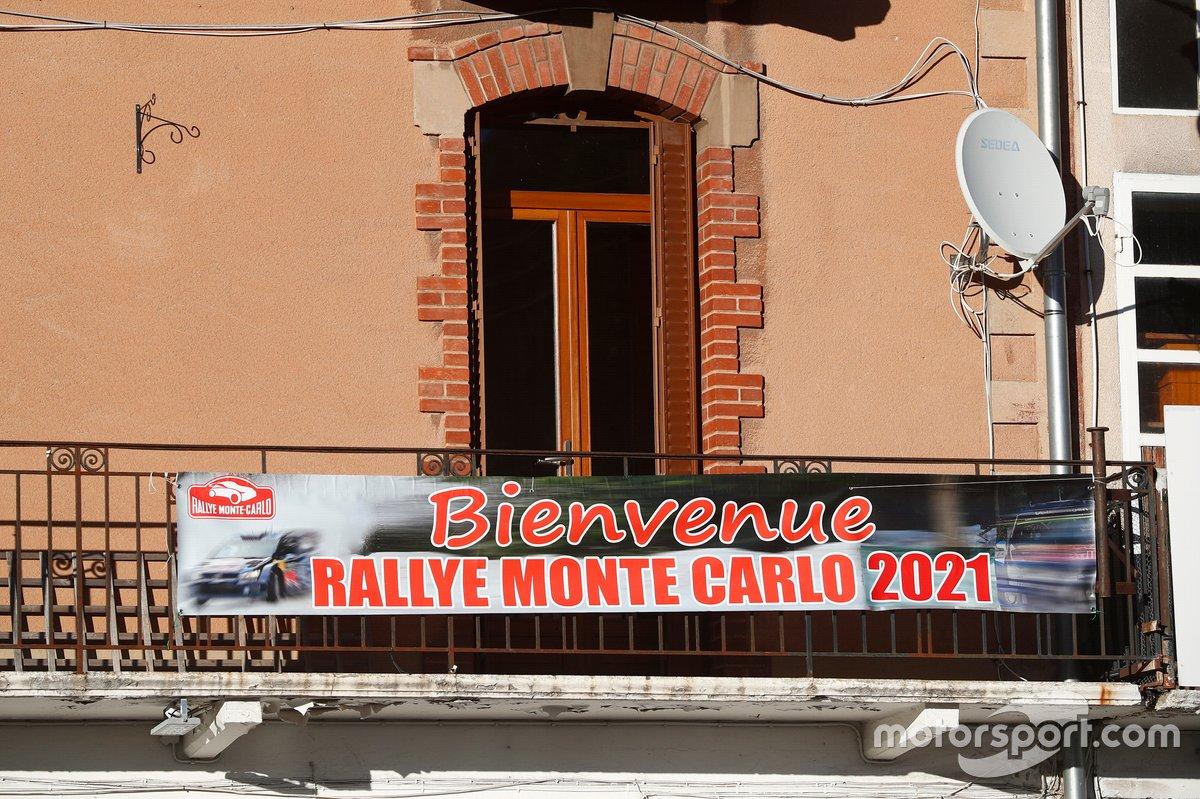 Ambiente del Rally de Montecarlo 2021