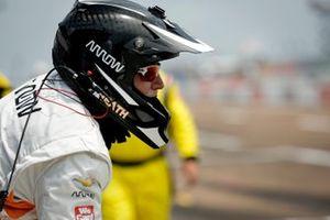 Pato O'Ward, Arrow McLaren SP Chevrolet crew member