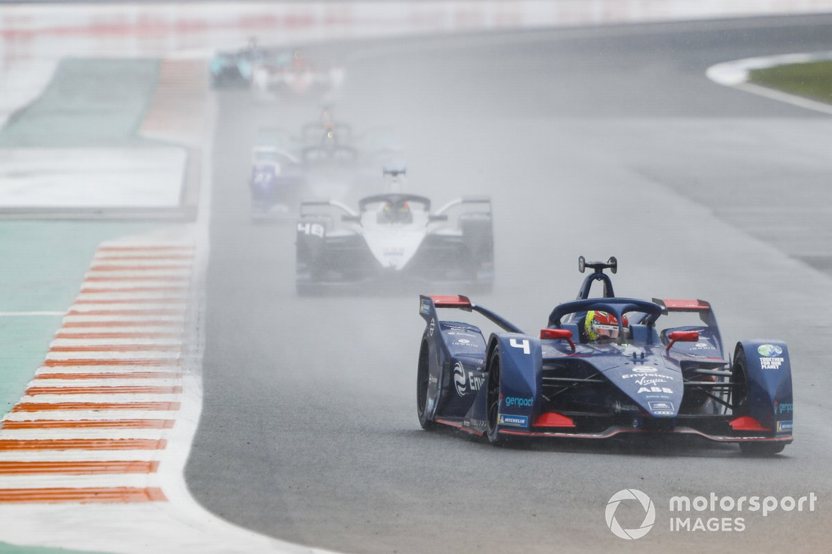 Robin Frijns, Envision Virgin Racing, Audi e-tron FE07, Edoardo Mortara, Venturi Racing, Silver Arrow 02