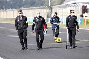 Mercedes-Benz EQ team member at the trackwalker