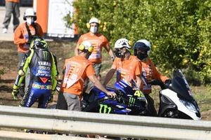 Valentino Rossi, Yamaha Factory Racing parks up and retires