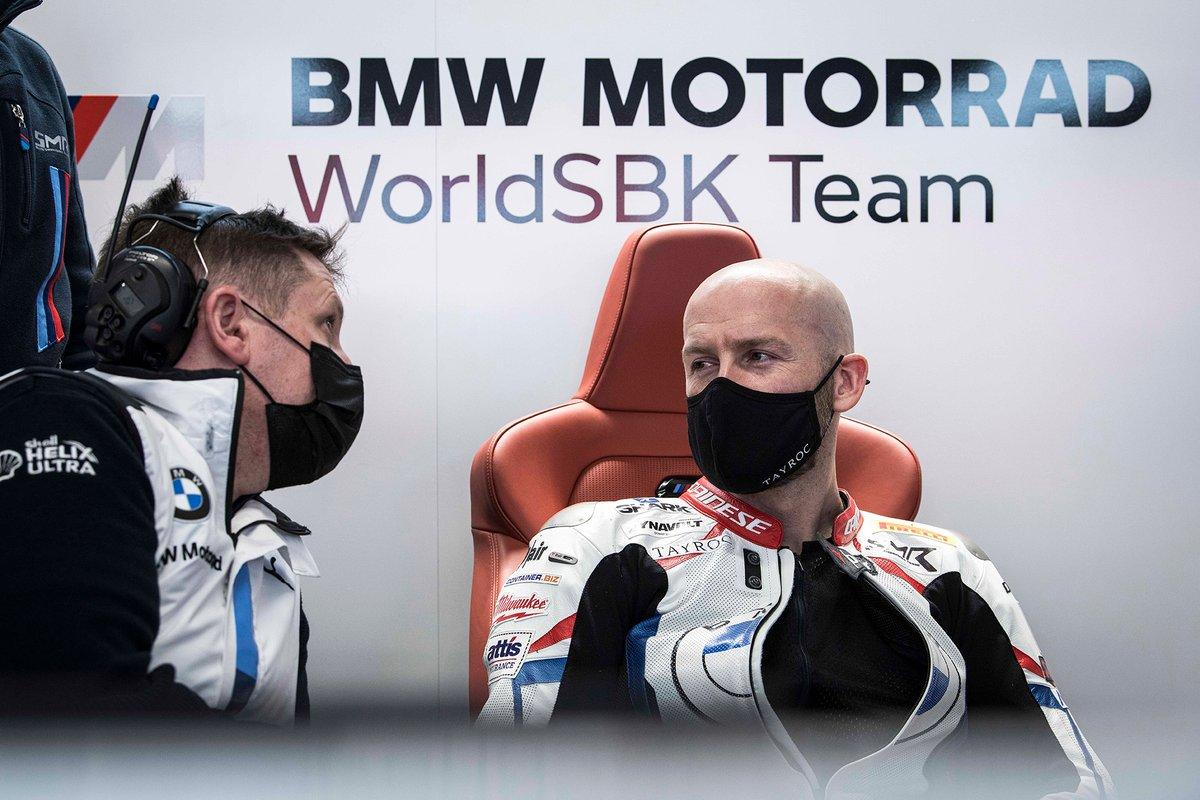 Tom Sykes en el equipo BMW Motorrad WorldSBK