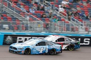 Kevin Harvick, Stewart-Haas Racing, Ford Mustang Busch Light, Christopher Bell, Leavine Family Racing, Toyota Camry Rheem/Smurfit Kappa