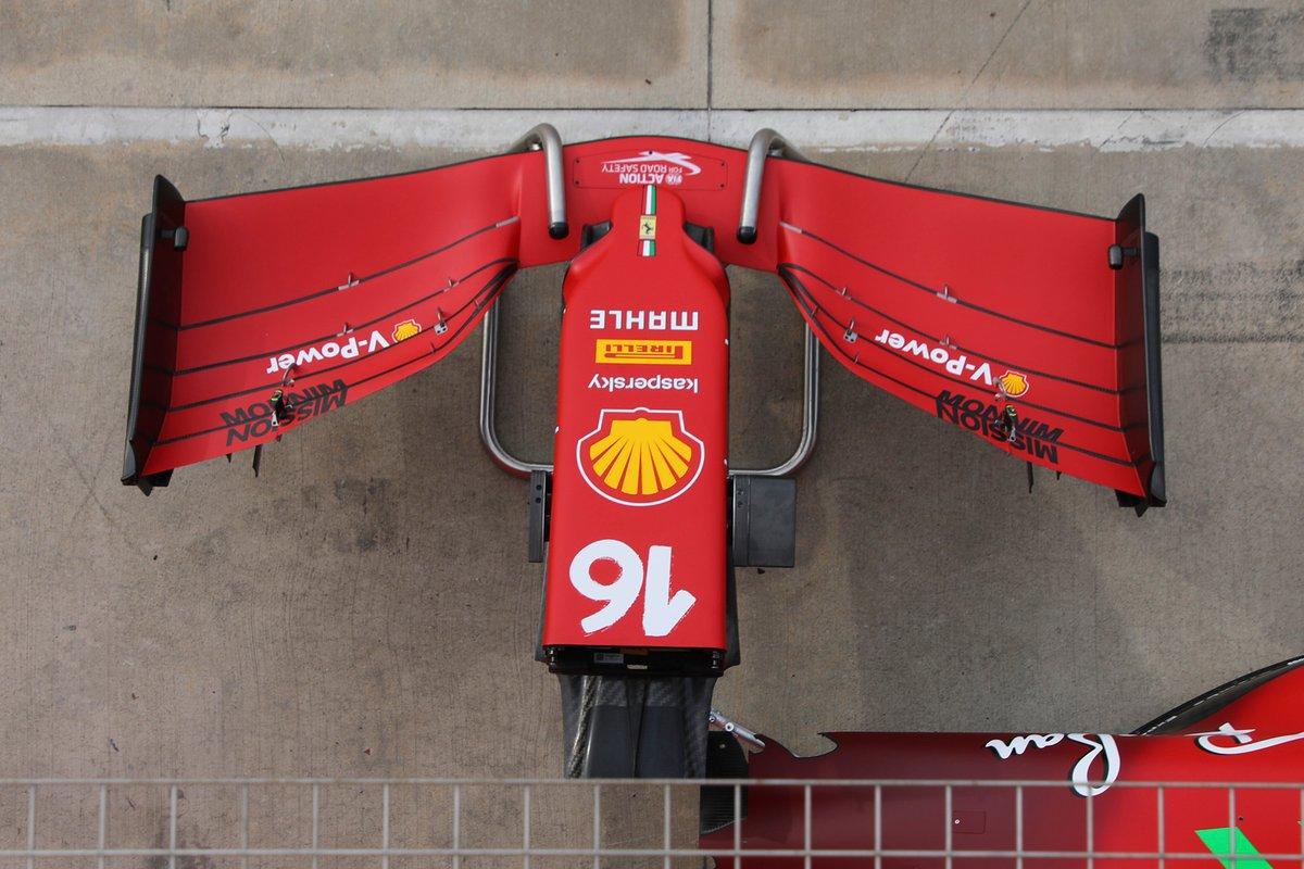 フェラーリSF21 フロントウイング