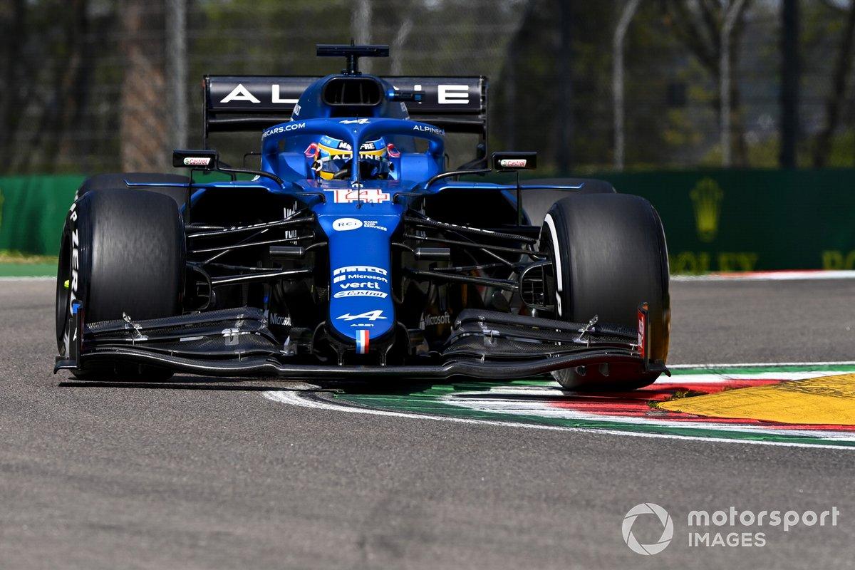 Fernando Alonso, Alpine A521