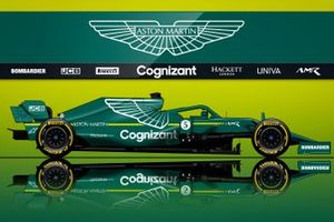 Konsep Aston Martin F1