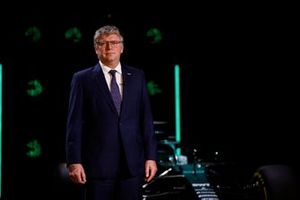 Otmar Szafnauer, teambaas en CEO, Aston Martin F1