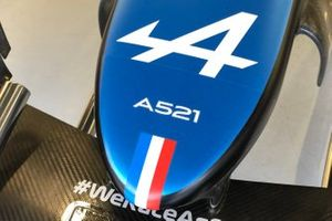 Alpine A521 nose detail