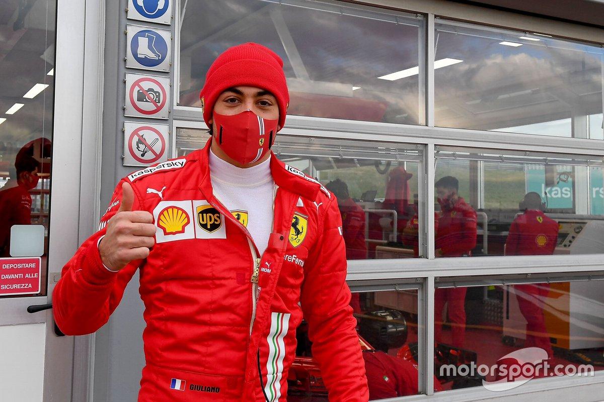 Giuliano Alesi, Ferrari