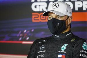 Valtteri Bottas, Mercedes-AMG F1, 2nd position, in the Press Conference