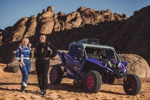 X-raid Yamaha Racing Rally Supported Team: Annett Fischer, Camelia Liparoti