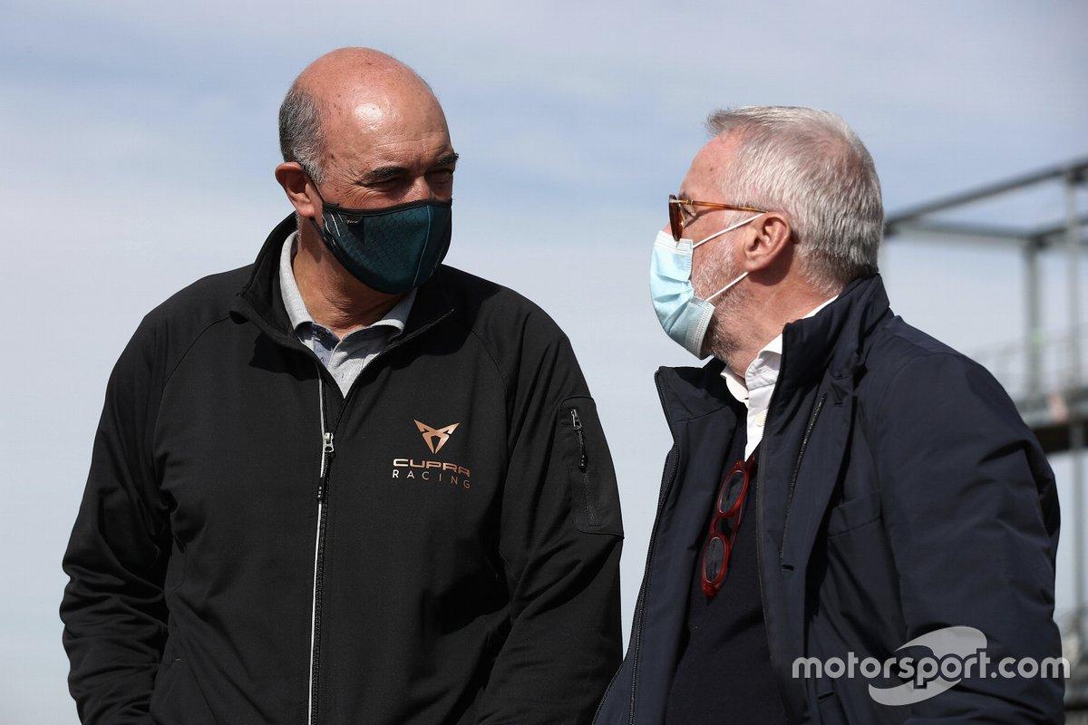 Jaime Puig, Cupra Racing, e Marcello Lotti