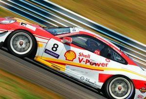 Carro da Shell de Werner Neugebauer e Ricardo Zonta