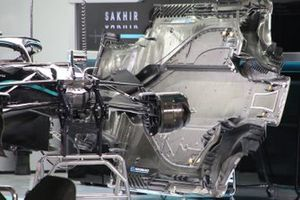 Mercedes F1 W11 vloer detail