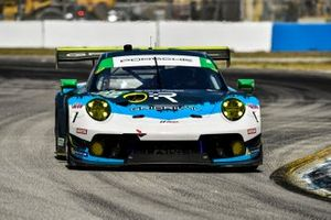 #99 Team Hardpoint EBM Porsche 911 GT3R, GTD: Earl Bamber, Trenton Estep, Rob Ferriol