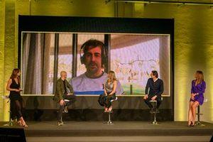 Fernando Alonso, en la presentación de DAZN F1 2021