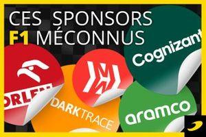 Les sponsors méconnus en F1
