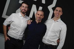 Matteo Pittaccio, Marco Melandri, Niccolo Pavesi, DAZN