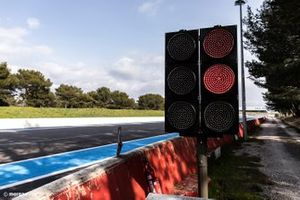 New LED panel at the circuit