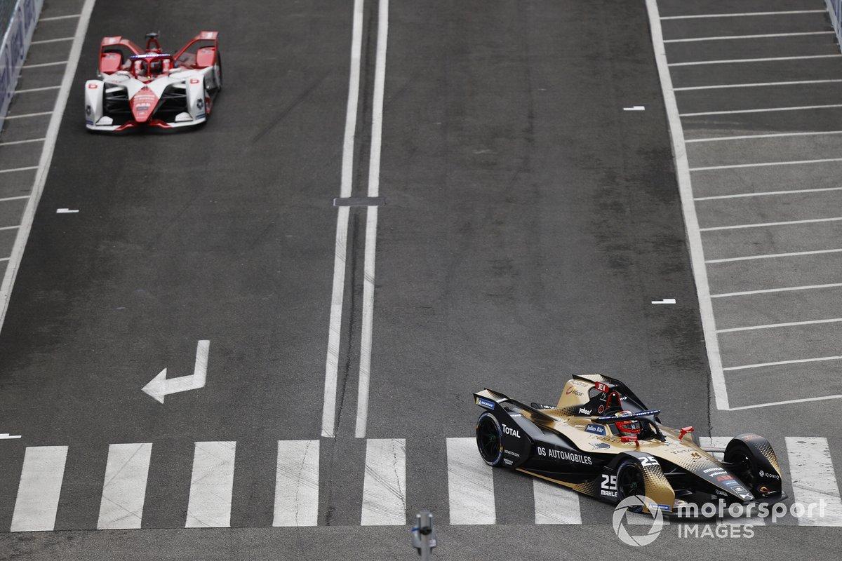 Jean-Eric Vergne, DS Techeetah, DS E-Tense FE21, Nico Muller, Dragon Penske Autosport, Penske EV-5
