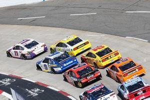 Renn-Action auf dem Martinsville Speedway