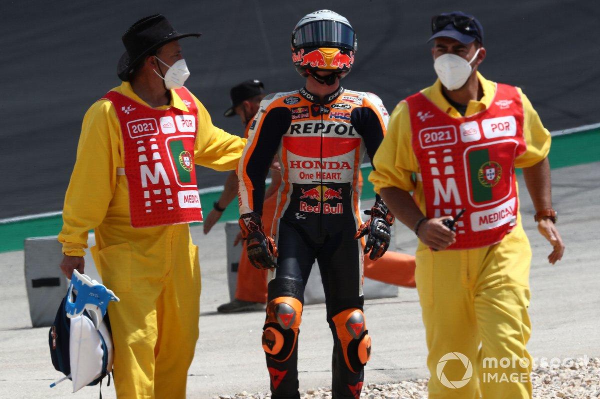 Pol Espargaró, Repsol Honda Team después de la caída