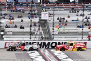 John Hunter Nemechek, Kyle Busch Motorsports, Toyota Tundra Safeway, Zane Smith, GMS Racing, Chevrolet Silverado