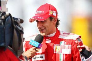 Luca Badoer, Ferrari