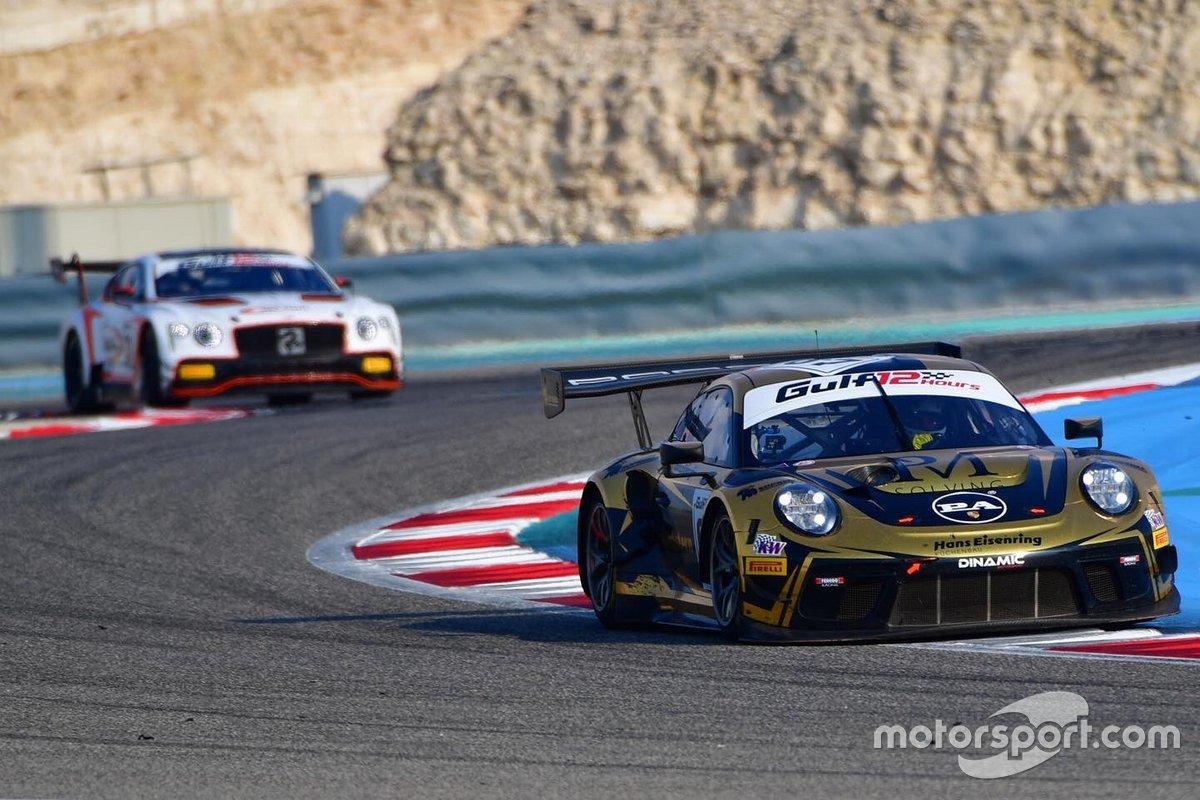 #67 Dinamic Motorsport, Porsche 911 GT3R: Roberto Pampanini, Mauro Calamia, Stefano Monaco