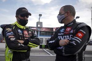 Matt Crafton, ThorSport Racing Toyota, Johnny Sauter, ThorSport Racing Toyota