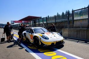 #46 Team Project 1 Porsche 911 RSR - 19: Dennis Olsen, Anders Buchardt, Axcil Jefferies