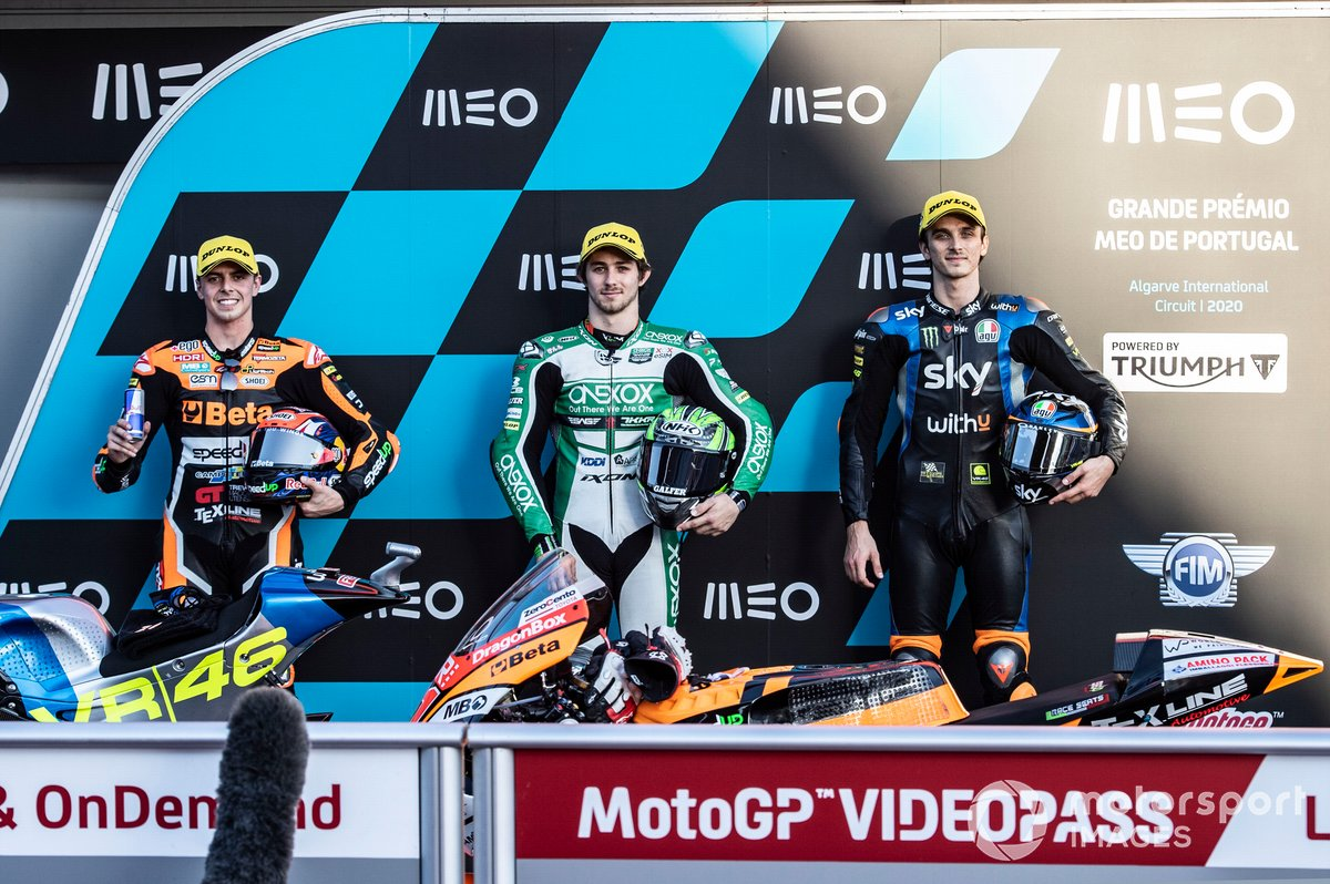 Fabio Di Giannantonio, Speed Up Racing, Remy Gardner, SAG Racing Team, Luca Marini, Sky Racing Team VR46