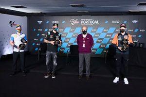 Sam Lowes, Marc VDS Racing, Fabio Quartararo, Petronas Yamaha SRT, Raul Fernandez, Red Bull KTM Ajo