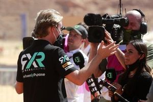 Nico Rosberg, founder and CEO, Rosberg X Racing, is interviewed by Layla Anna-Lee, TV Presenter Extreme E