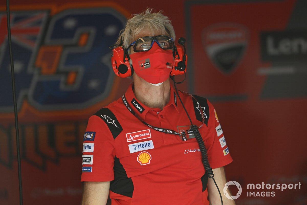 Gigi Gigi Dall'Igna, Director General del Equipo Ducati
