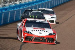 Brandon Jones, Joe Gibbs Racing, Toyota Supra Toyota, Riley Herbst, Stewart-Haas Racing, Ford Mustang Monster Energy