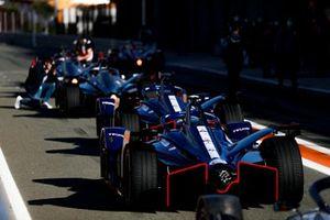 Robin Frijns, Envision Virgin Racing, Audi e-tron FE07, Nick Cassidy, Envision Virgin Racing, Audi e-tron FE07