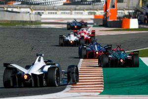 Robin Frijns, Envision Virgin Racing, Audi e-tron FE07, Rene Rast, Audi Sport ABT Schaeffler, Audi e-tron FE07, Edoardo Mortara, Venturi, Silver Arrow 02