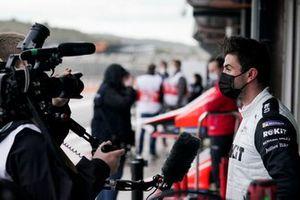 Norman Nato, Venturi Racing, parle aux médias