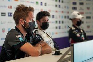 Sam Bird, Panasonic Jaguar Racing, in the press conference