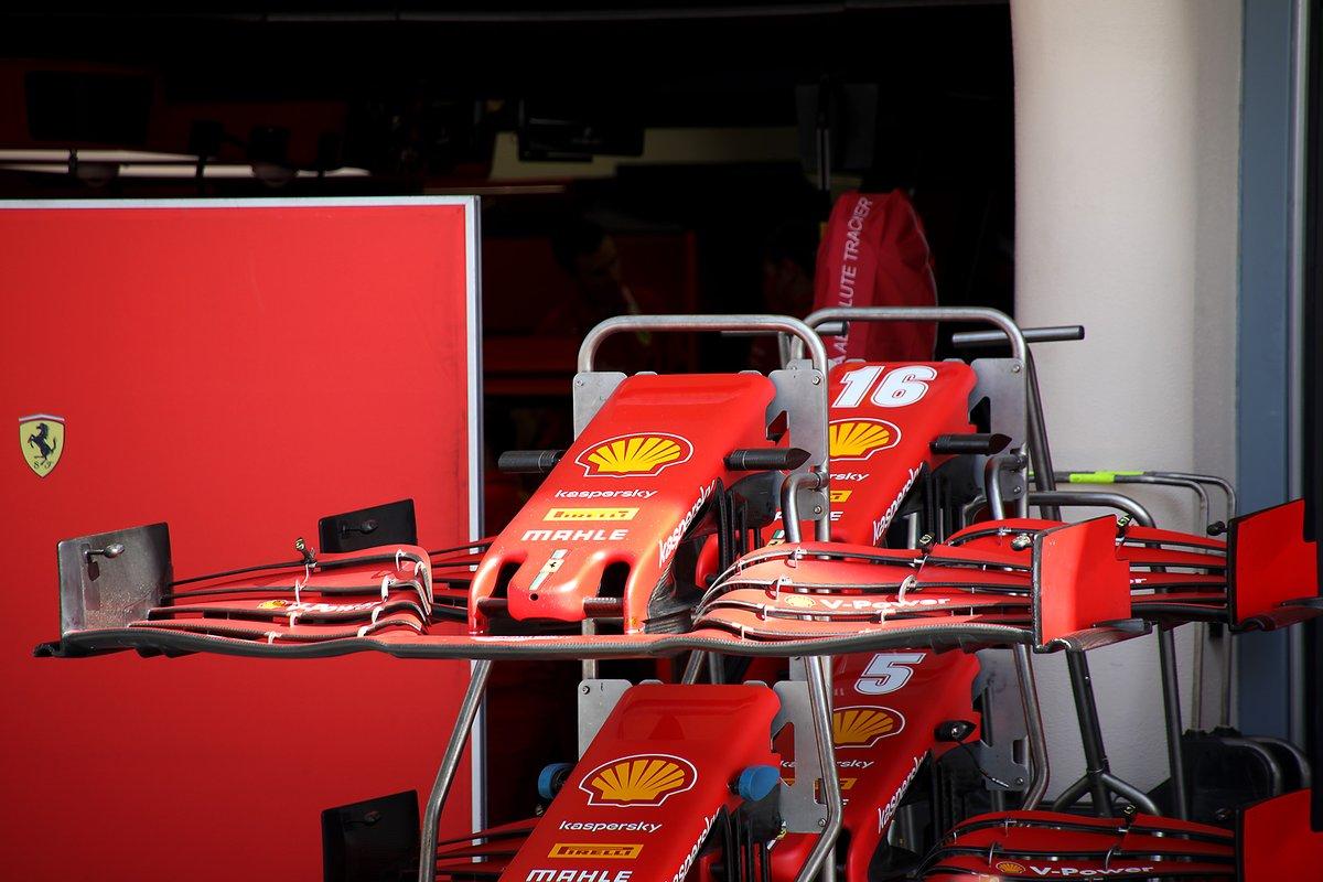 Alerón delantero del Ferrari SF1000