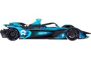 La livrée du team NIO 333 en Formule E