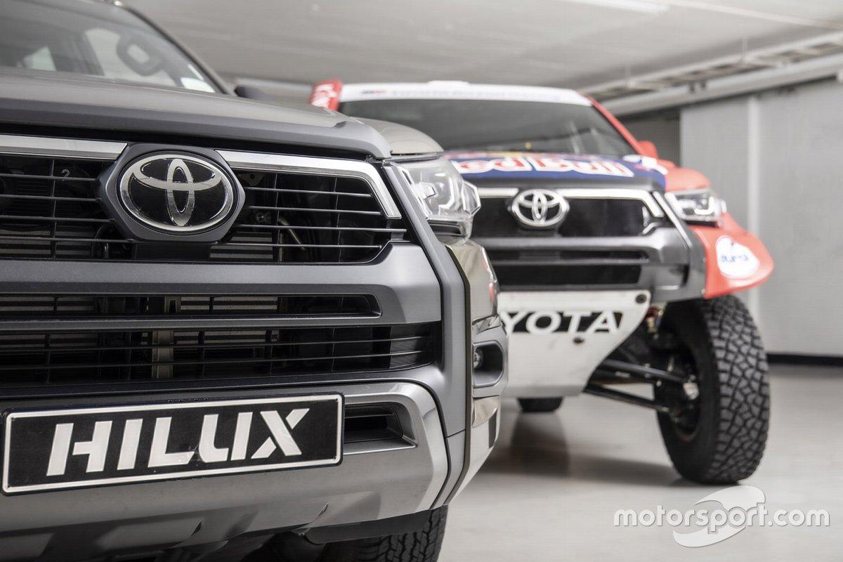 Toyota Gazoo Racing Toyota Hilux y Toyota Hilux