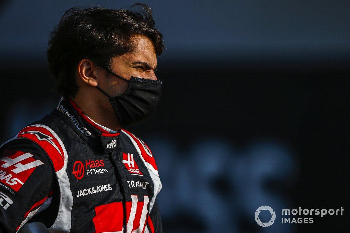 Pietro Fittipaldi, Haas F1 durante la foto de grupo de los pilotos al final de la temporada