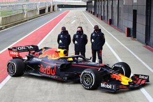 Sergio Perez, Red Bull Racing, Red Bull Racing Team Principal Christian Horner, Max Verstappen, Red Bull Racing