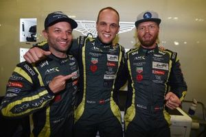 Ganadores de la pole #95 Aston Martin Racing Aston Martin Vantage AMR: Marco Sorensen, Nicki Thiim, Darren Turner