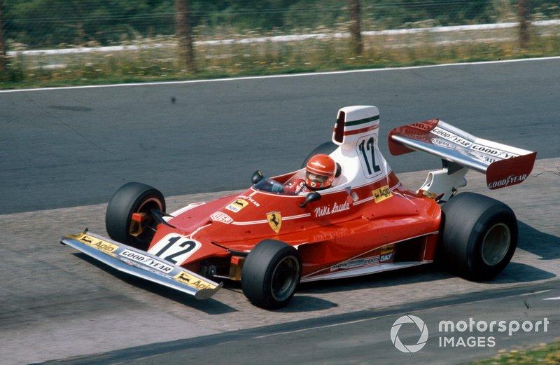 Niki Lauda, Ferrari 312T (2 ocasiones)